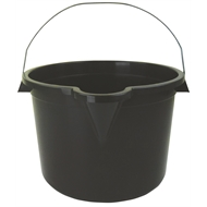HomeLeisure 15L Charcoal Trend Bucket