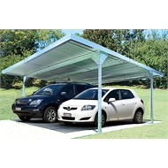 Absco Sheds 5.5 x 2.25 x 5.5m Skillion Roof Double Carport