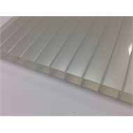 Suntuf Sunlite 10mm x 5.0m Solar Ice Twinwall Polycarbonate Roofing