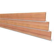 197 x 18mm Cladding Altache Including Aluminium Strip - Per Linear Metre
