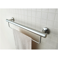 Evacare 600mm Towel Rail With Grab Rail