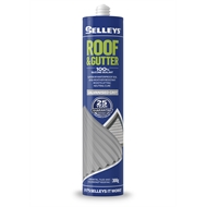 Selleys Roof & Gutter 300g Galvanised Grey Silicone