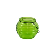 Classic 8cm Honey Pot Glass Tealight Holder