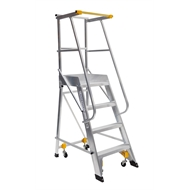 Bailey 2.1m 130kg Aluminium Ladderweld Order Picker Ladder