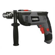 Ozito 1010W Hammer Drill Kit With 51 Accessories