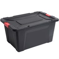 Ezy Storage 100L Latch Heavy Duty Storage Box