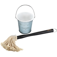 Char-Griller Basting Mop With Bucket