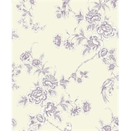 Superfresco Easy 52cm x 10m Wild Flower Plum Wallpaper