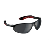 3M Black / Grey Flat Temple Safety Glasses
