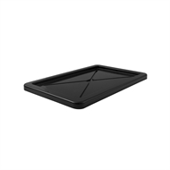 Handy Storage 54L Black Storage Crate Lid