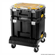 DeWALT TSTAK Lockable Wheeled Trolley Cart