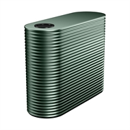 Kingspan 5000L Slim Steel Water Tank - 1150mm x 1560mm x 3300mm Cottage Green