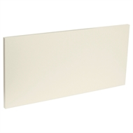 Kaboodle 600mm Melamine Modern 1 Drawer Panel - Custard Glaze