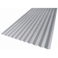 Suntuf 2.4m Diffused Grey SolarSmart Polycarbonate Roof Sheet