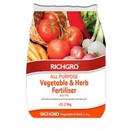 Richgro 2.5kg All Purpose Vegetable And Herb Fertiliser