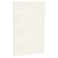 Kaboodle 450mm Almine Glaze Modern 4 Drawer Panels