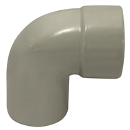 Holman 40mm PVC DWV 88 Degree Male And Female Elbow