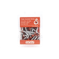 Pryda 12G x 35mm Galvanised Hex Head Timber Connector Screws - 50 Pack