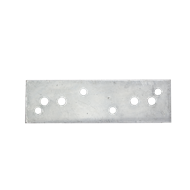 Carinya 250 x 75 x 5mm Galvanised Mending Plate Bracket
