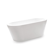 Forme 1650 x 720 x 620mm Freestanding Bath