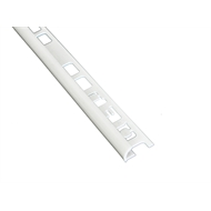 QEP 6mm x 2.5m PVC White Tile Trim