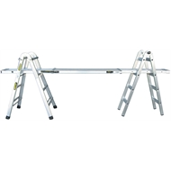 Gorilla Mighty 11 Multi-Purpose Aluminium Ladder