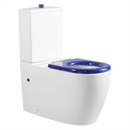 Evacare WELS 4 Star 4.5-3L/min White Accessible Back To Wall Toilet Suite