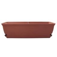 Eden 60cm Terracotta Roman Self Watering Trough