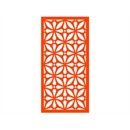 Protector Aluminium 1200 x 2400mm Profile 12 Decorative Panel Unframed - Orange