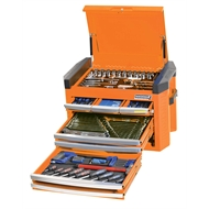 Kincrome 207 Piece Contour 8 Drawer Orange Tool Kit