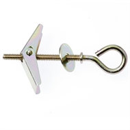 TIC 25mm Anodised Screw Eye Toggle  - 2 Pack