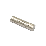 Everhang 8mm Rare Earth Disc Magnet - 10 Pack