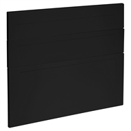 Kaboodle 900mm Black Olive Alpine 3 Drawer Panels