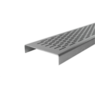 Grates 2 Go 1250mm Brick Pattern Shower Modular - Grate Only