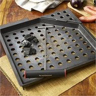 Matador 400mm Charcoal Tray with Smoker Box