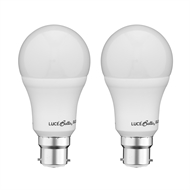Luce Bella 7W 470lm A60 Warm White BC Globe - Twin Pack