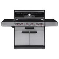Matador 6 Burner Hooded Titan BBQ with Side Burner