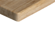 Kaboodle 2400 x 900 x 50mm Bamboo Benchtop