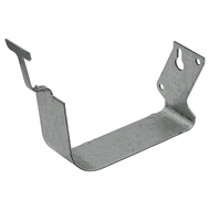COLORBOND 115mm Quad Gutter External Bracket - Shale Grey