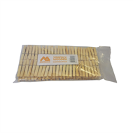Morgan 100pk Wooden Clothes Pegs