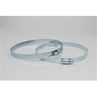 Pacific Air 125mm Stainless Steel Worm Clamp - 2 Pack
