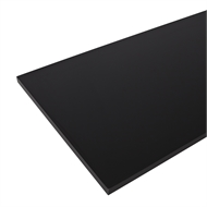 Marquee 2400 x 600 x 25mm Black Laminate Bench Top