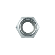 Pinnacle M8 Zinc Plated Nylon Lock Nut - 5 Pack