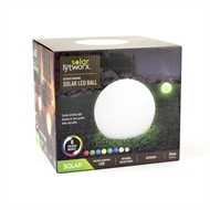 Lytworx Solar Colour Changing LED Ball