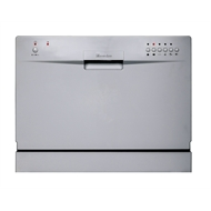 Everdure 55cm Silver Countertop Dishwasher
