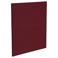 Kaboodle 600mm Seduction Red Modern 2 Drawer Panels