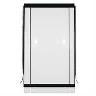 Marquee PVC Outdoor Cafe Blind - 1500mm x 2400mm Clear