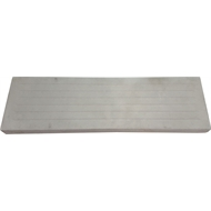 1200 x 375 x 75 mm Grooved Concrete Step