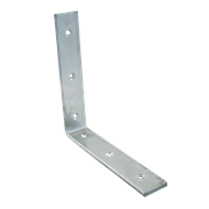 Carinya 200 x 200 x 40 x 6mm Galvanised Heavy Duty Angle Bracket