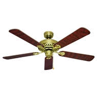 Mercator 130cm Polished Brass Hayman Ceiling Fan